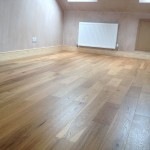 Brushed and Lacquered Oak