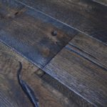 Antique distressed oak engineered wood flooring wide board