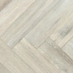 Brushed Oak Herringbone Blocks