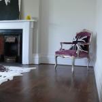 Walnut topped laminate flooring