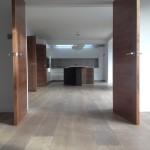 Grey oak wood floor
