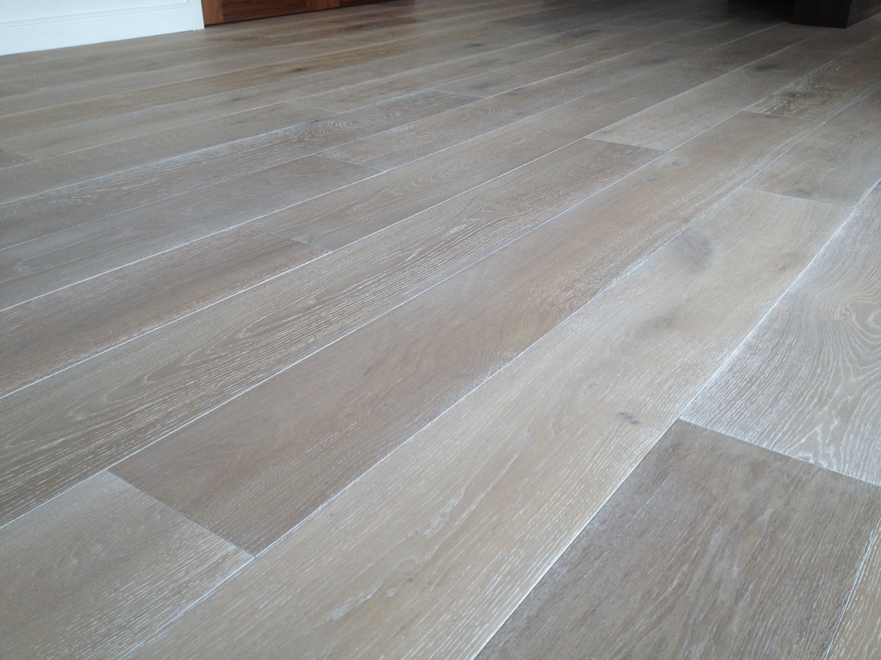 Oak Hardwood Flooring ~ White oak flooring solid grey