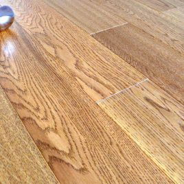 H-128 hand scraped oak flooring