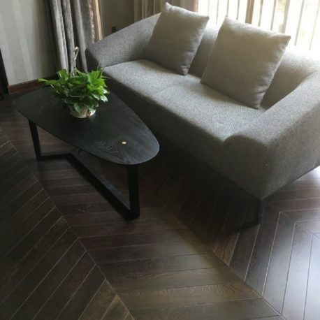 Trade Price Bespoke Chevron Flooring