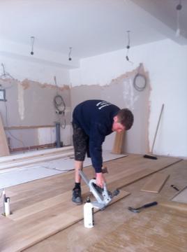 Solid wood plank & strip Installation